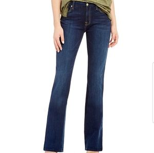 7 FOR ALL MANKIND long bootcut denim jeans